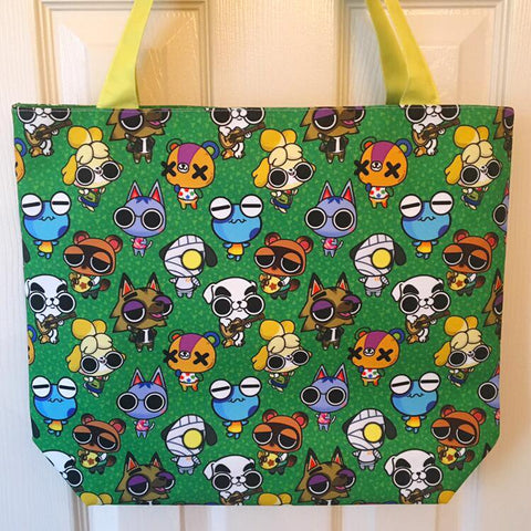 Animal Crossing Tote Bag