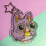 Sugar High Bat Keychain