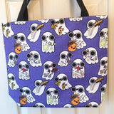 Ghost Foodie Tote Bag