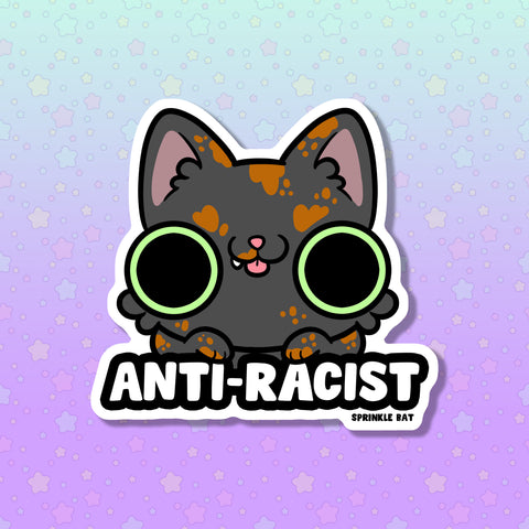 Anti-Racist Sticker for NAACP LDF