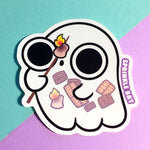 S'mores Ghost Sticker
