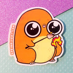 Charmander s'mores Sticker