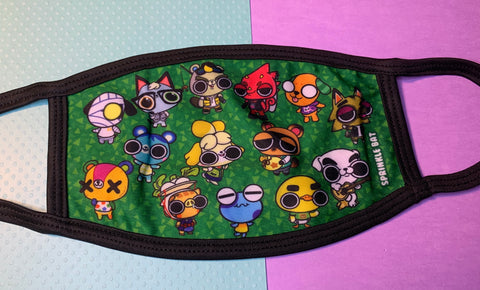 Animal Crossing Face Mask
