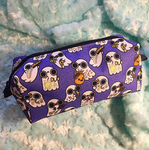 Ghost Foodies pencil bag