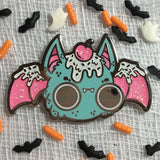 Sprinkle Bat hard enamel pin