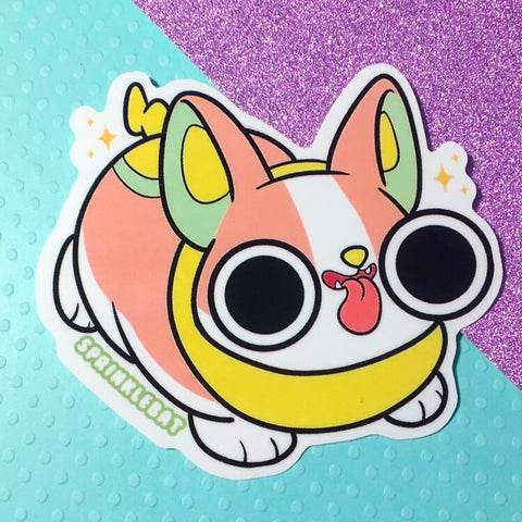 Yamper Sticker