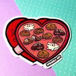 Chocolate cats Sticker