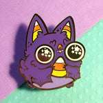 Sugar High Bat hard enamel pin
