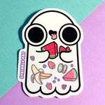 Fruit Ghost Sticker