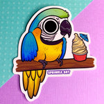 Macaw Sticker