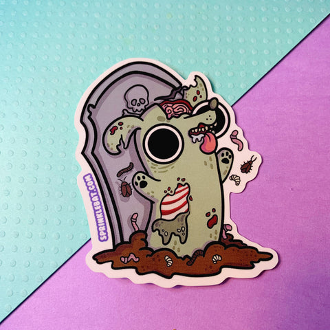 Zombie Pup Sticker