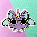 Birthday Bat Sticker