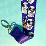 Ghost foodies Lanyard