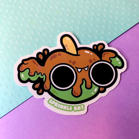 Candy Apple Bat Sticker