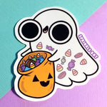 Candy Ghost Sticker