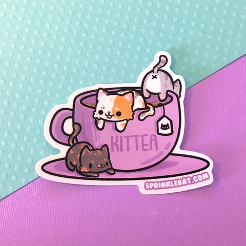 Kittea Sticker