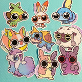 Limited Galar Region Sticker Set