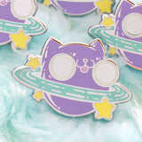 Cat Planet Pin