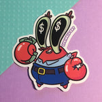 Mr. Krabs Sticker