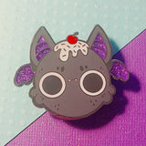Sprinkle Bat Squishy style Enamel Pin