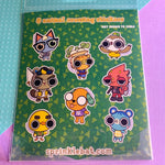 Animal Crossing Sticker Pack : series two