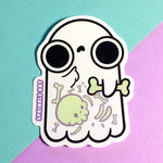 Bones Ghost Sticker