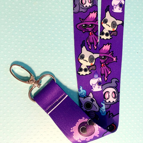 Ghost Pokémon Lanyard