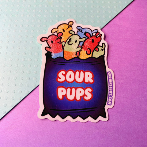 Sour Pups Sticker