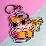 Sk8 Cat Keychain