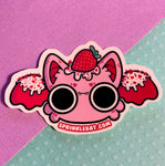 Valentines Bat Sticker