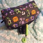 Spooky Halloween animal pencil bag