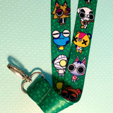 Animal crossing Lanyard