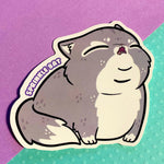 Screamin' Chonk Sticker