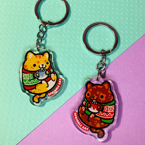 Coco Kitty Keychain