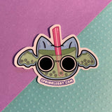 Bat Boba Drink Sticker