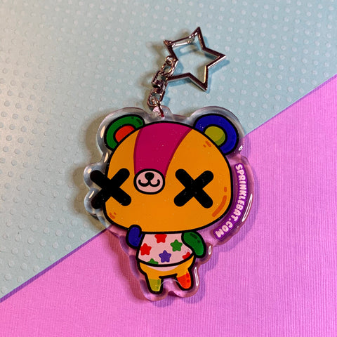 Stitches Keychain