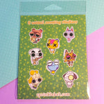 Animal Crossing Sticker Pack : series one
