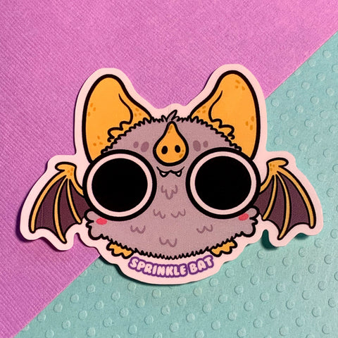 Honduran Bat Sticker