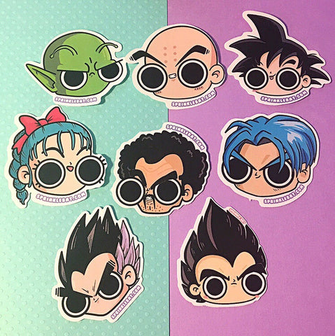 Dragonball Stickers