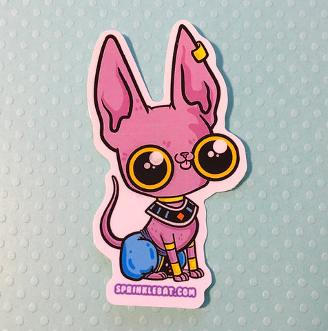 Lord Beerus Sticker