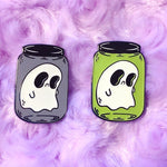 Ghost In a Jar Pins