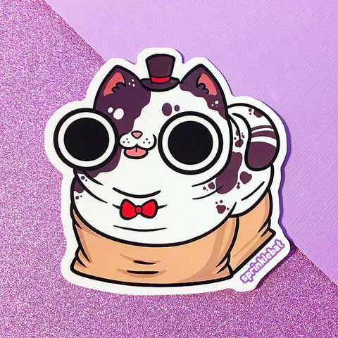 Cat Mayor Sticker