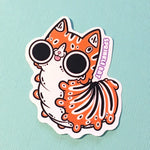 Kittypillar Sticker