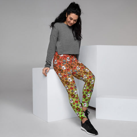 Holiday Mini Print Women's Joggers