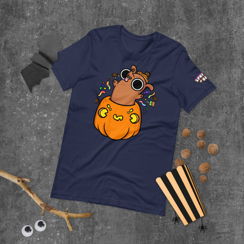 Halloweenie Candy Short-Sleeve Unisex T-Shirt