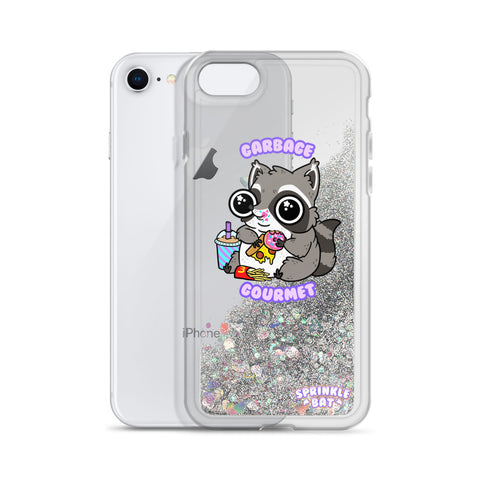 Garbage Gourmet Liquid Glitter Phone Case