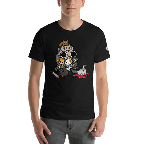 Jason Loves Kitties Short-Sleeve Unisex T-Shirt
