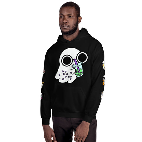 Ghost foodies Hooded Sweatshirt