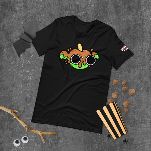 Caramel Apple Bat Short-Sleeve Unisex T-Shirt