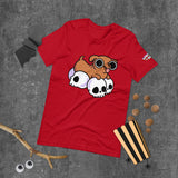 Red Skull Weenie Short-Sleeve Unisex T-Shirt